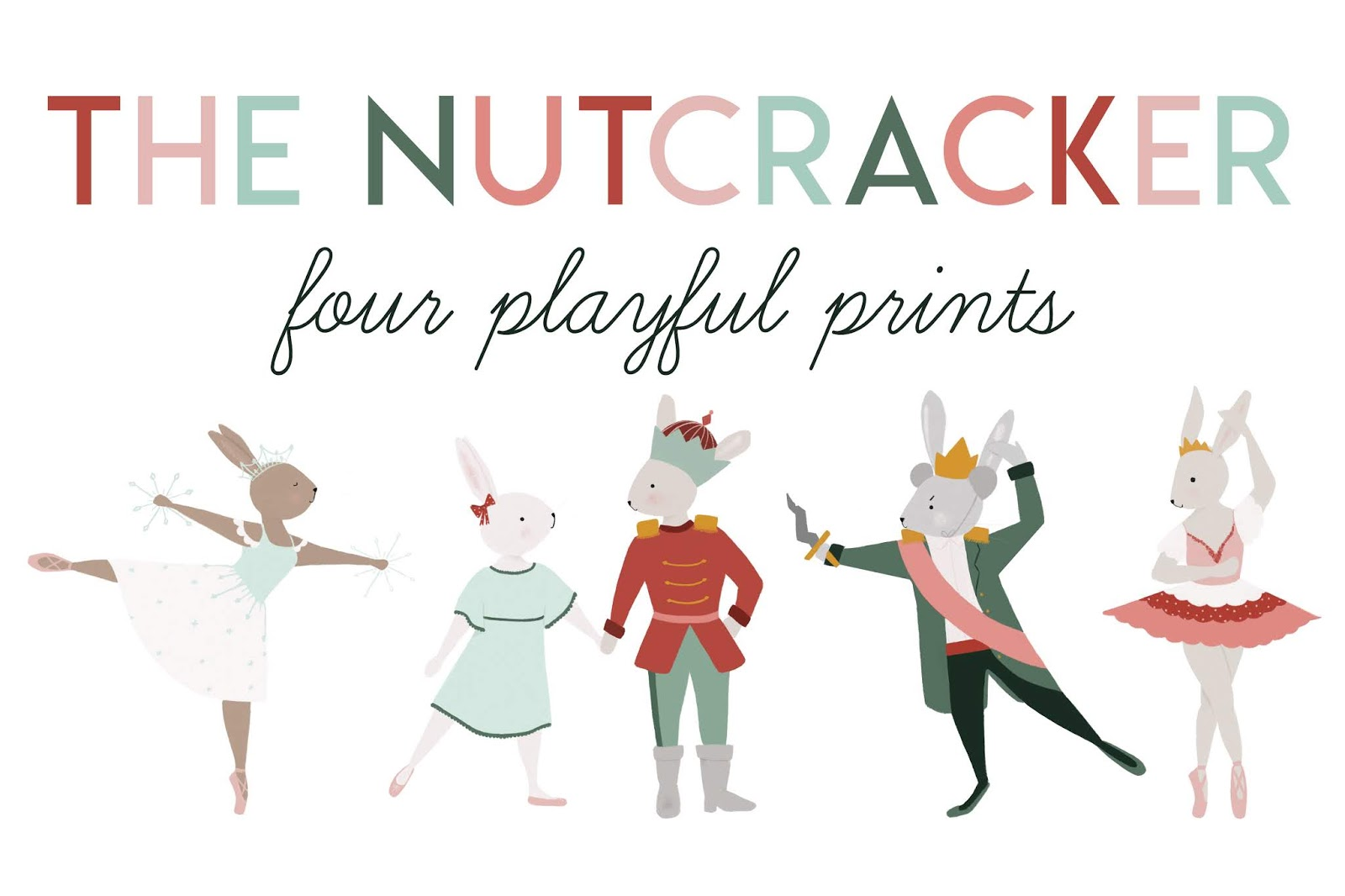 Nutcracker Bunnies Free Printable The Lovely Little Life